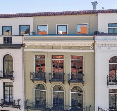 San Francisco County Condo/Townhouse For Sale: 1563 Francisco