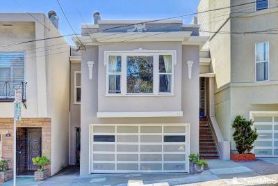 San Francisco County Multi Family Home For Sale: 31 31A Emerson St