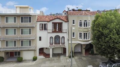 San Francisco County Multi Family Home For Sale: 3036 3038 Baker St