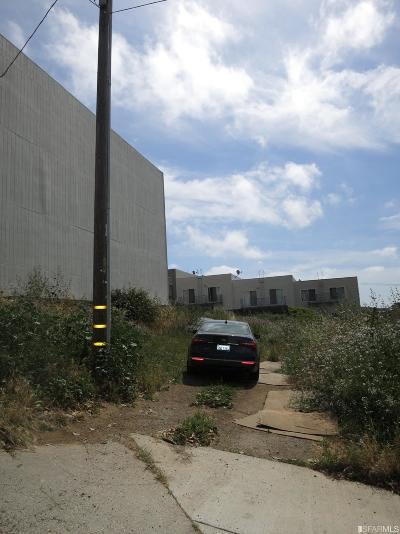 San Francisco County Residential Lots & Land For Sale: 81 Ervine St