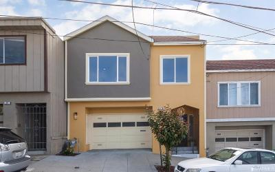 San Francisco County Single Family Home For Sale: 26 Watt Ave