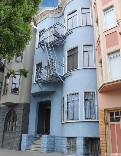 San Francisco County Multi Family Home For Sale: 115 117 Sanchez St
