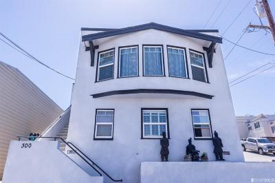 San Francisco County Multi Family Home For Sale: 300 Holyoke St