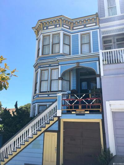 San Francisco County Single Family Home Act Cont Show: 519 Sanchez St