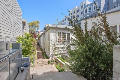 San Francisco County Condo/Townhouse For Sale: 1338 Filbert St #D