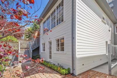 San Francisco County Condo/Townhouse For Sale: 1338 Filbert St #B