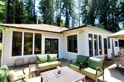 Sonoma County Single Family Home For Sale: 20030 River Blvd