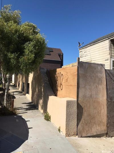 San Francisco County Single Family Home For Sale: 501 Crescent Ave
