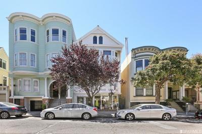 San Francisco County Multi Family Home For Sale: 3521 3525 Sacramento St