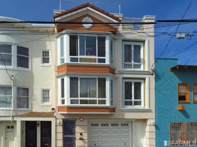San Francisco County Condo/Townhouse For Sale: 441 19th Ave