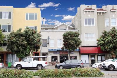 San Francisco County Multi Family Home For Sale: 6314 6318 Geary Blvd