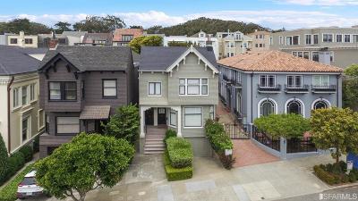 San Francisco County Condo/Townhouse For Sale: 3938 Washington St