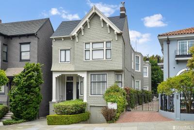 San Francisco County Condo/Townhouse For Sale: 3940 Washington St