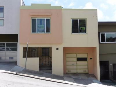 San Francisco County Single Family Home Act Cont Show: 137 Prentiss St