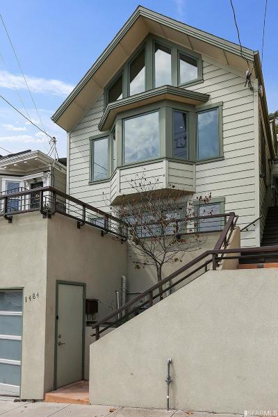 San Francisco County Single Family Home For Sale: 1484 Noe St