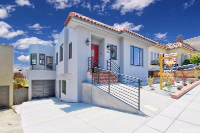San Francisco County Single Family Home For Sale: 1155 Monterey Blvd