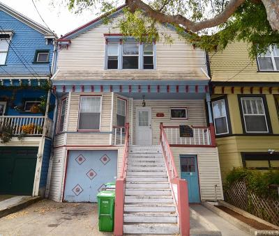 San Francisco County Single Family Home For Sale: 418 Persia Ave