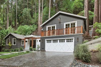 Marin County Single Family Home For Sale: 71 Cascade dr