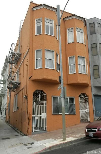 San Francisco County Multi Family Home For Sale: 572 Vallejo St