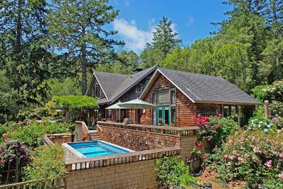 Marin County Single Family Home For Sale: 30 Roberts Rd