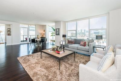 San Francisco County Condo/Townhouse For Sale: 325 China Basin St #416