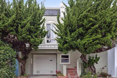 San Francisco County Condo/Townhouse For Sale: 2411 47th Ave