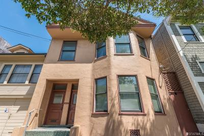 San Francisco County Multi Family Home For Sale: 226 228 18th Ave