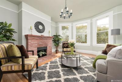 San Francisco County Condo/Townhouse For Sale: 226 18th Ave