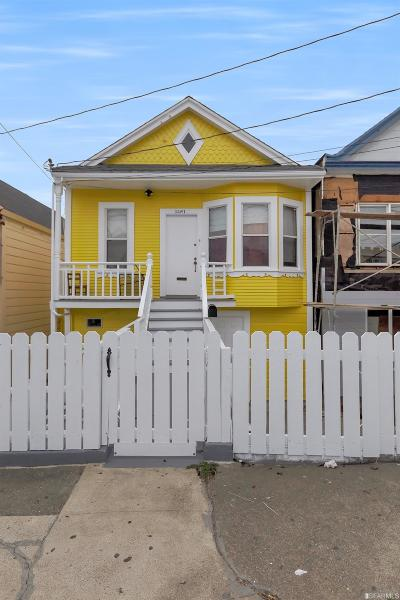 San Francisco County Single Family Home For Sale: 1461 Revere Ave