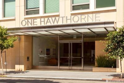 San Francisco County Condo/Townhouse For Sale: 1 Hawthorne St #4H