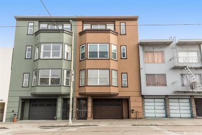 San Francisco County Condo/Townhouse For Sale: 2625 Judah St #1