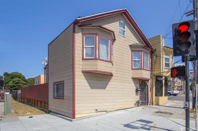 San Francisco County Single Family Home For Sale: 1667 1669 Silver Ave