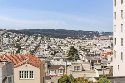 San Francisco County Condo/Townhouse For Sale: 2111 Hyde St #306