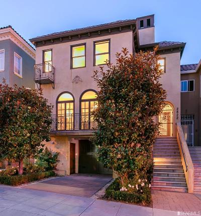 San Francisco County Single Family Home For Sale: 2622 Chestnut St