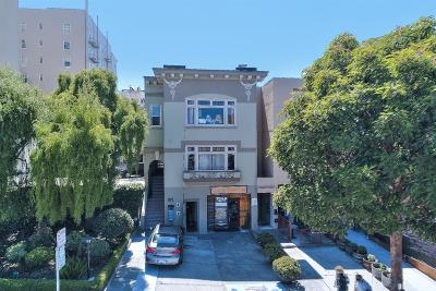 San Francisco County Multi Family Home For Sale: 1443 Lombard St