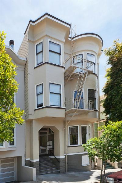 San Francisco County Multi Family Home For Sale: 2136 Broderick St
