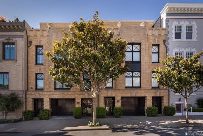 San Francisco County Condo/Townhouse For Sale: 2963 Pacific Ave