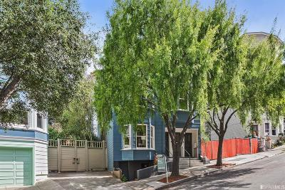 San Francisco County Multi Family Home For Sale: 260 264 Downey St