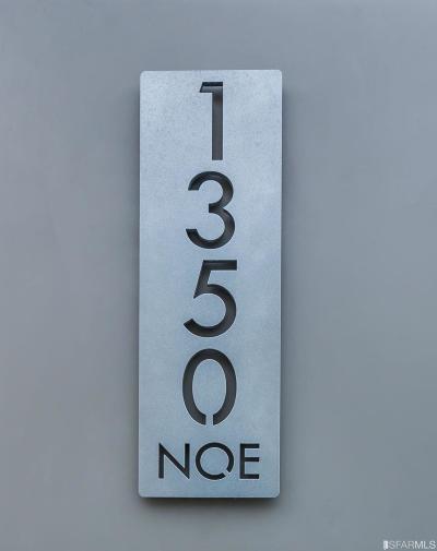 San Francisco County Single Family Home For Sale: 1350 Noe St