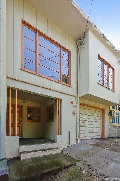 San Francisco County Single Family Home For Sale: 561 Valley St