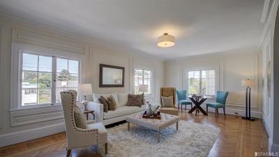 San Francisco County Condo/Townhouse For Sale: 5241 California St