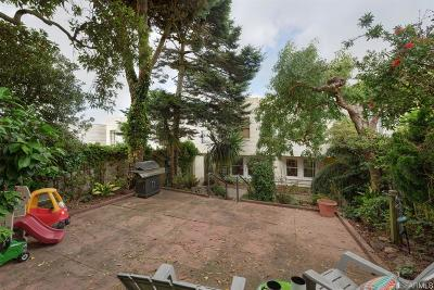 San Francisco County Single Family Home For Sale: 2315 Lawton St