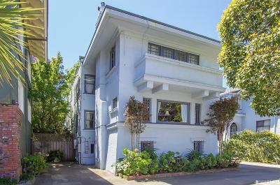 San Francisco County Single Family Home For Sale: 1325 Lake St