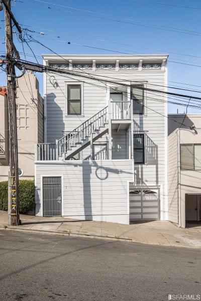 San Francisco County Multi Family Home For Sale: 158 160 Missouri St