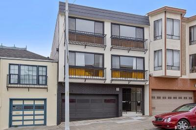 San Francisco County Condo/Townhouse For Sale: 1726 9th Ave #1728