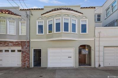 San Francisco County Single Family Home For Sale: 2285 Greenwich St