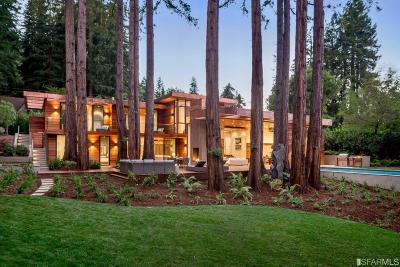 Marin County Single Family Home For Sale: 9 Woodside Way