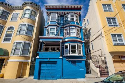 San Francisco County Multi Family Home For Sale: 516 520 Page St