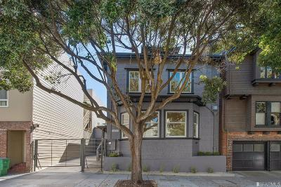San Francisco County Single Family Home For Sale: 425 Lake St