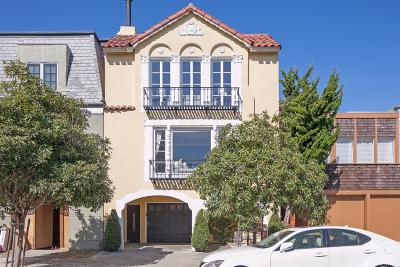 San Francisco County Condo/Townhouse For Sale: 2274 Bay St